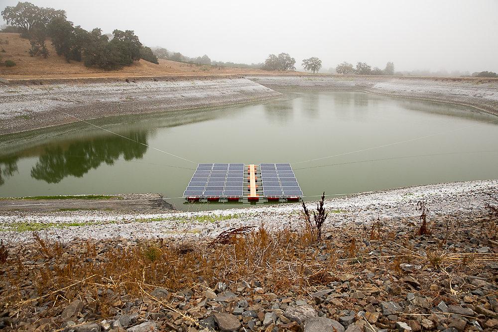 Pristine Floating Solar Installation