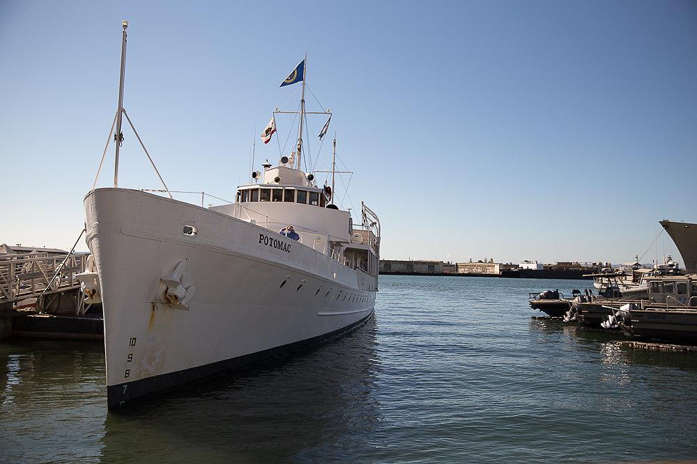 Potomac Cruise with Sarah